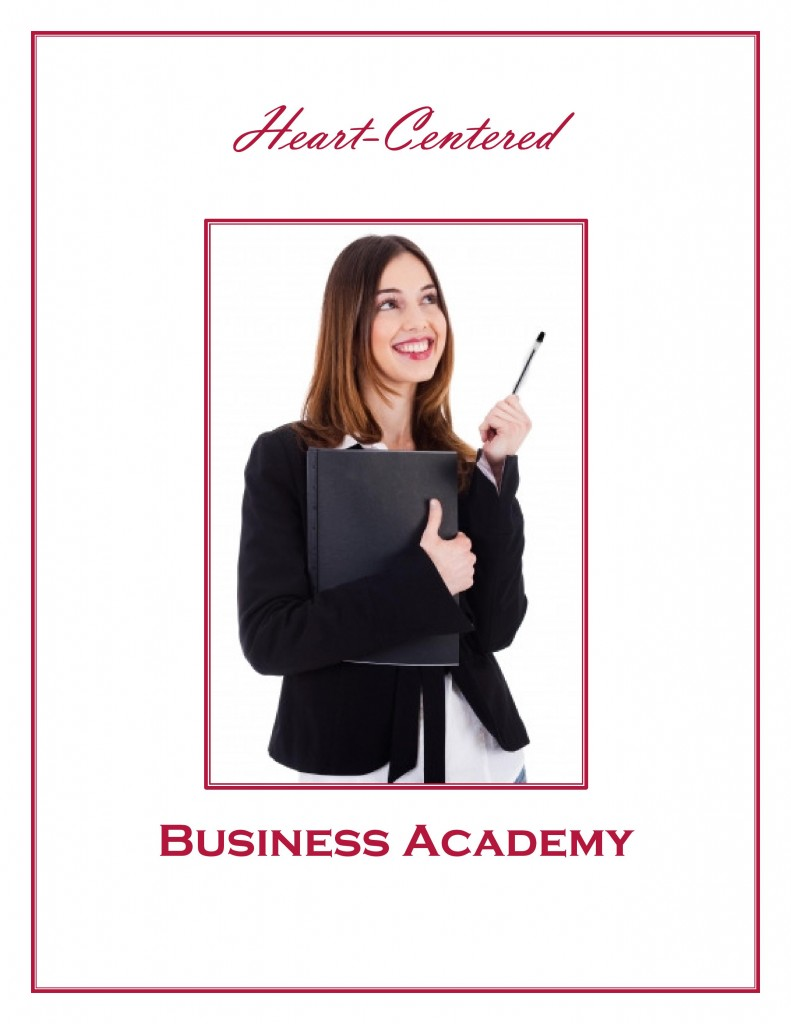 Heart-Centered Business Academy Group Coaching Program by Purposeful Pathway Christian Life Coaching