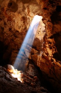 Free Image Nice Sun Ray in Cave by wiangya